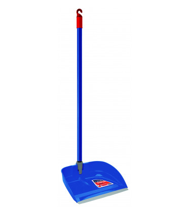 Plastic garbage shovel with handle