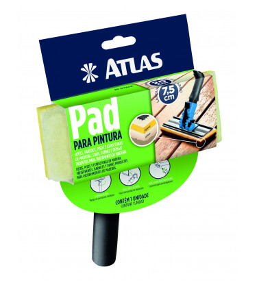 20cm paint pad with handle